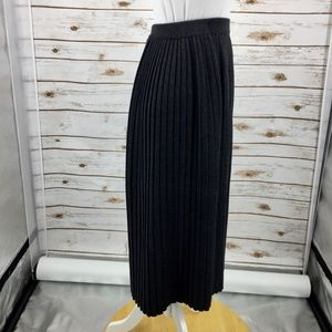 Talbots Skirts - Talbots 100% Merino wool pleated skirt charcoal P